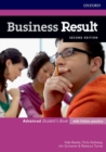 Image for Business Result: Advanced: Student's Book with Online Practice : Business English you can take to work today