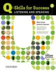 Image for Q Skills for Success: Listening and Speaking 3: Student Book with Online Practice