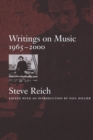 Image for Writings on music, 1965-2000