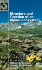 Image for Structure and function of an alpine ecosystem: Niwot Ridge, Colorado