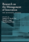 Image for Research on the management of innovation: the Minnesota studies