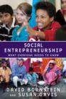 Image for Social entrepreneurship  : what everyone needs to know