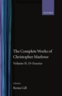 Image for The Complete Works of Christopher Marlowe: Volume II: Dr Faustus