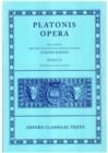 Image for Plato Opera Vol. IV : (Clitopho, Respublica, Timaeus, Critias.)
