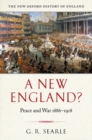 Image for A new England?  : peace and war 1886-1918