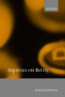 Image for Aquinas on being