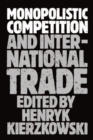 Image for Monopolistic competition and international trade