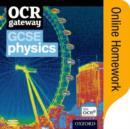 Image for OCR Gateway GCSE Physics Online Homework