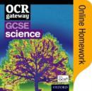Image for OCR Gateway GCSE Science Online Homework