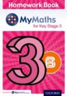 Image for MyMaths for Key Stage 3: Homework Book 3B (Pack of 15)