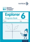 Image for Numicon: Geometry, Measurement and Statistics 6 Explorer Progress Book (Pack of 30)