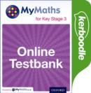 Image for MyMaths: for Key Stage 3: Online Testbank
