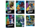 Image for Project X Alien Adventures: Dark Blue, Dark Red & Dark Red + Book Bands, Oxford Levels 15-20: Super Easy Buy Pack