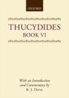 Image for Thucydides : Book VI