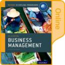 Image for IB Business Management Online Course Book: Oxford IB Diploma Programme