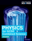 Image for Physics for GCSE combined sciences (higher): Student book