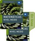 Image for IB Matematicas Nivel Medio Libro del Alumno conjunto libro impreso y digital en linea: Programa del Diploma del IB Oxford
