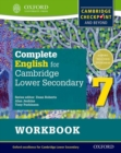 Image for Complete English for Cambridge Secondary 1Student workbook 7