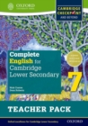 Image for Complete English for Cambridge Secondary 1Teacher pack 7