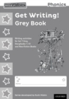 Image for Read Write Inc. Phonics: Get Writing! Grey Book Pack of 10