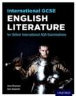 Image for International GCSE English literature for Oxford International AQA examinations
