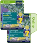 Image for Complete English for Cambridge Lower Secondary Print and Online Student Book Pack 7