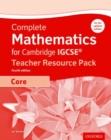 Image for Complete mathematics for Cambridge IGCSE: Teacher resource pack (core)