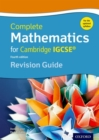 Image for Complete mathematics for Cambridge IGCSE: Revision guide (core & extended)