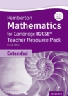 Image for Pemberton mathematics for Cambridge IGCSE: Teacher resource pack