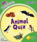 Image for Oxford Reading Tree: Level 2: More Songbirds Phonics : Animal Quiz