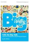 Image for Big Writing: Talk the big talk :