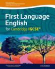 Image for First language English for Cambridge IGCSE