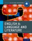 Image for English A  : language and literature: Course companion