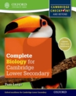 Image for Complete biology for Cambridge secondary 1 student book  : for Cambridge checkpoint and beyond