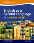 Image for English as a second language for Cambridge IGCSE: Student book