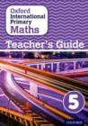 Image for Oxford international primary mathsStage 5: Teacher's guide 5