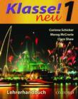 Image for Klasse! NeuPart 1: Teacher's book : Part 1 : Teacher's Book