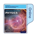Image for International GCSE Physics for Oxford International AQA Examinations : Online Student Book