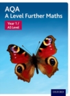 Image for AQA A level further mathsYear 1/AS level,: Student book