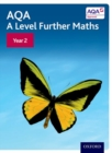 Image for AQA A level further mathsYear 2,: Student book