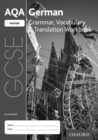 Image for AQA GCSE German: Higher: Grammar, Vocabulary & Translation Workbook : (pack of 8)
