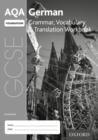 Image for AQA GCSE German Foundation Grammar, Vocabulary & Translation Workbook (Pack of 8)