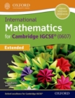 Image for International Maths for Cambridge IGCSE Extended