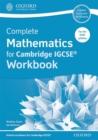 Image for Complete mathematics for Cambridge IGCSE: Workbook