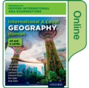 Image for International A level human geography for Oxford International AQA examinations