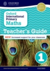 Image for Oxford International Primary Maths: Stage 1: Teacher's Guide 1