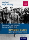 Image for Democracy and Nazism  : Germany 1918-1945: Revision guide