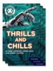 Image for Project X Comprehension Express: Stage 3: Thrills and Chills Pack of 15