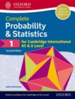 Image for Complete probability & statistics 1 for Cambridge International AS & A level