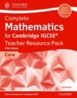 Image for Complete mathematics for Cambridge IGCSE teacher resouce pack (core)